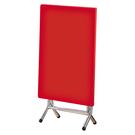 【森可家居】紅色2X3尺纖維桌 9SB389-2 商用 餐廳