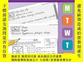 二手書博民逛書店Daily罕見Handwriting Practice Traditional CursiveY256260