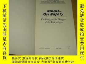 二手書博民逛書店the罕見nader report small onsafety center for auto safety纳德