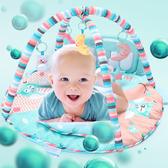 腳踏鋼琴健身架腳踏鋼琴健身架新生兒寶寶音樂遊戲毯早教益智玩具wy