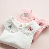 店長推薦★2018新款薄款寶寶女0-1-3歲純棉公主嬰兒上衣~