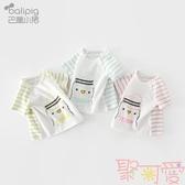 女童短袖T恤夏季嬰兒半袖上衣寶寶純棉韓版【聚可愛】