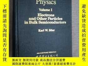 二手書博民逛書店survey罕見of semiconductor physics
