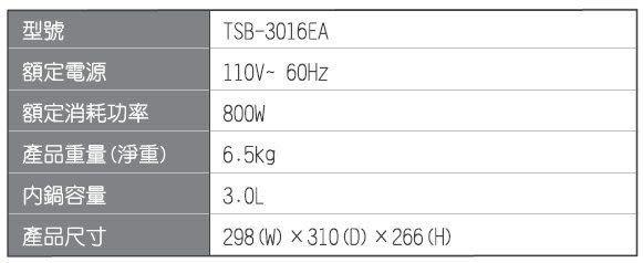 【中彰投電器】大同(3L)微電腦電火鍋/複合料理無水鍋,TSB-3016EA【全館刷卡分期+免運費】