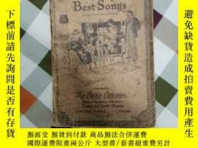 二手書博民逛書店The罕見one hundred and one Best songs 101首最好的歌曲 1927年第29版 現