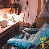 懶人椅寢室電腦椅單人沙發椅折疊家用臥室躺椅【雲木雜貨】