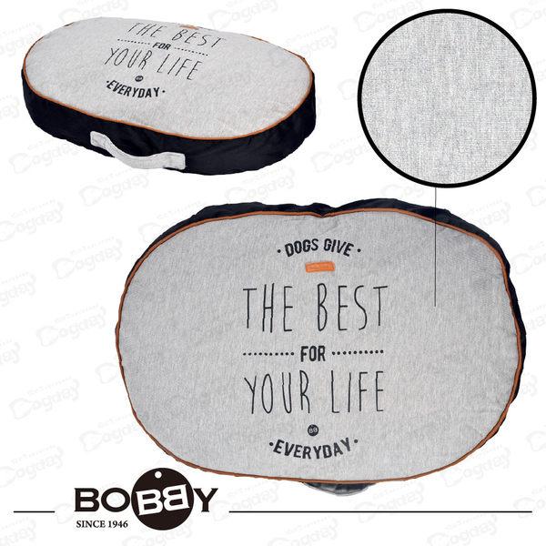 法國《BOBBY》美好人生厚墊M號 保護關節 中小型犬睡墊 法鬥/雪納瑞/獵狐梗 方便清潔拆洗