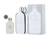 岡山戀香水~Calvin Klein CK ONE 2018白金未來限量版中性淡香水50ml~優惠價:1190元