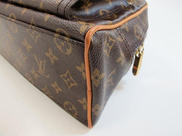 【巴黎站二手名牌專賣店】*現貨*LV 路易威登 真品*M40026經典花紋Manhattan系列PM手提包