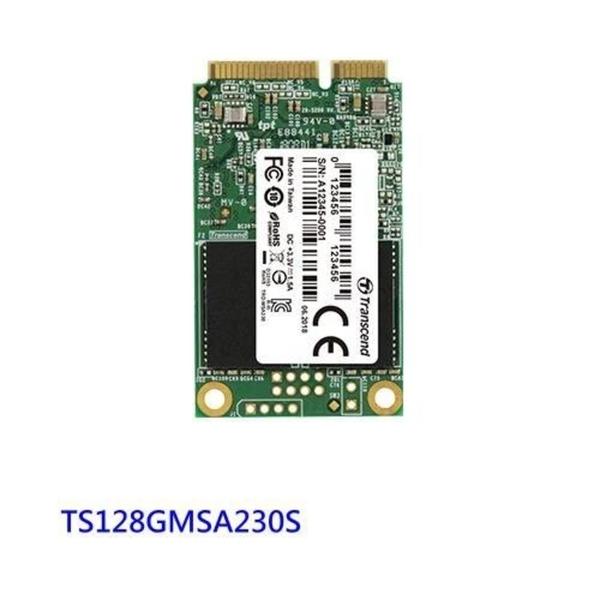 新風尚潮流 創見 固態硬碟 【TS128GMSA230S】 128GB mSATA SSD 支援 SATA III