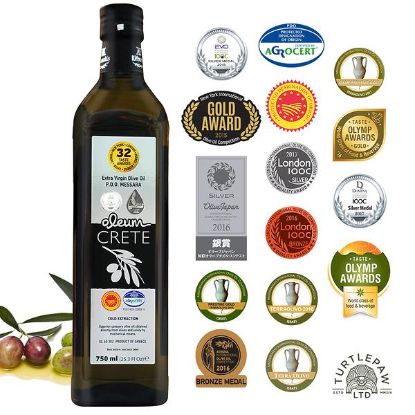 【Oleum Crete】奧莉恩頂級初榨橄欖油(750ml)