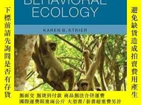 二手書博民逛書店Primate罕見Behavioral EcologyY464532 Karen B. Strier Rout