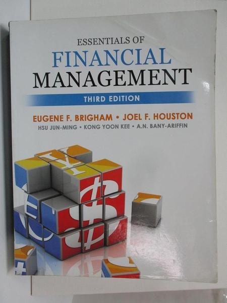 【書寶二手書T5/大學商學_EHX】Essentials of Financial Management_Brigham,Houston