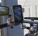 改裝摩托車導航架快拆重機車導航座支架KY...