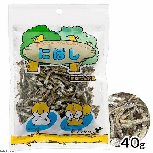 『寵喵樂旗艦店』日本藤澤-小魚乾 40g-小動物用 寵物鼠蜜袋鼯