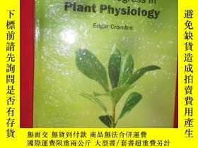 二手書博民逛書店Recent罕見progress in Plant Physlo