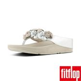 【FitFlop TM】RINGER FLOWER TM TOE THONG(銀色)