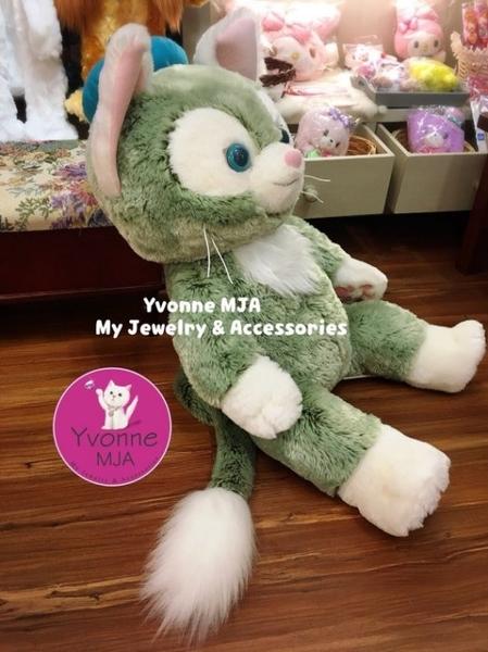 *Yvonne MJA*東京迪士尼Disney Bear海洋樂園限定正品 傑拉東尼 畫家貓 M號絨毛娃娃