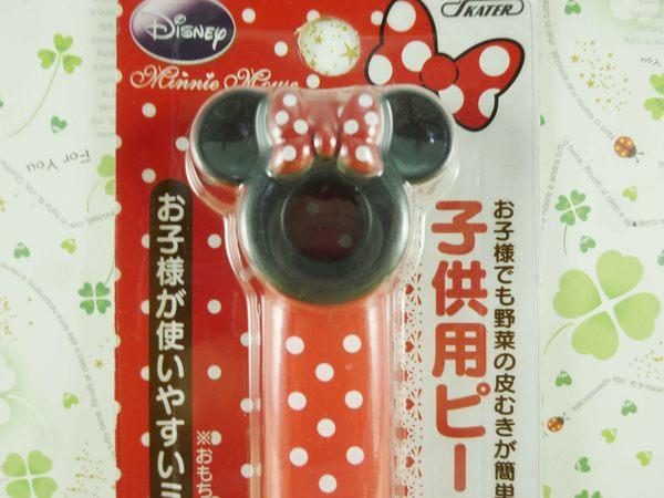 【震撼精品百貨】Micky Mouse_米奇/米妮 ~削皮器-紅米妮