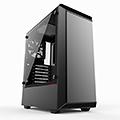 Phanteks 追風者 Eclipse P300 PH-EC300PTG_BK鋼化玻璃黑色電腦機殼