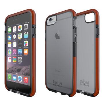 Tech 21 英國超衝擊 D3O Classic Shell iPhone 6 / 6s,軍規等級防撞 保護殼軟質透黑