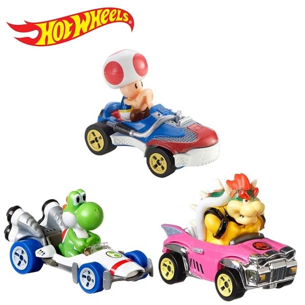 【正版授權】瑪莉歐賽車 風火輪小汽車 玩具車 超級瑪莉 瑪莉歐兄弟 Hot Wheels 714470 714487 714494