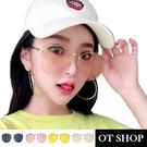 [現貨]太陽眼鏡 韓系復古 橢圓形金屬框...