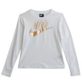 Nike AS W NSW TOP LS METALLIC GX  長袖上衣 939349100 女 健身 透氣 運動 休閒 新款 流行