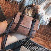 包包女2018秋季新款女包韓版簡約百搭手提包小方包單肩斜挎小包潮-Ifashion