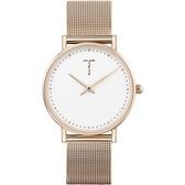 【台南 時代鐘錶 TYLOR】自由探索精神 風格多變極簡設計腕錶 TLAF007 米蘭帶 33mm