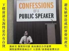 二手書博民逛書店Confessions罕見of a Public Speaker