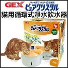 *KING WANG*GEX視窗型-貓用循環式淨水飲水器1.5L