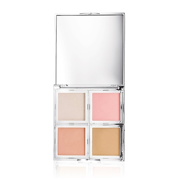 【愛來客 】新款美國elf Beautifully Bare Total Face 4色高光修容腮紅綜合盤#96004