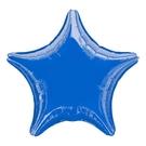 18吋星星鋁箔氣球(不含氣)-寶石藍