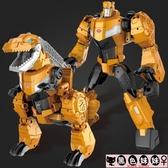 兒童禮物變形金剛合金變形玩具5霸王龍鋼索恐龍賽博坦G1手辦金剛模型正版男孩LXY6616【宅男時代城