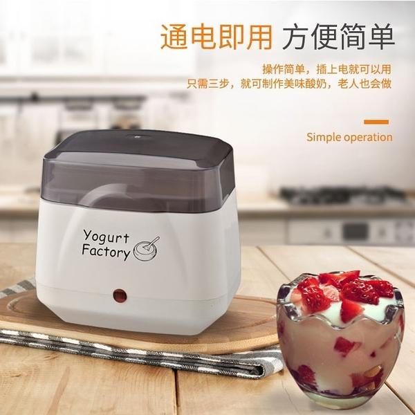 現貨 110V小家電出口日本美國加拿大yogurt maker酸奶機家用小型全自動 DF 萬聖節狂歡
