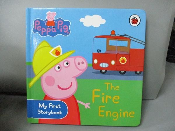【書寶二手書T1/少年童書_HQE】Peppa Pig: The Fire Engine: My First Storybook_Ladybird