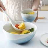 餐具碗碟套裝家用2/4單人創意日式陶瓷北歐早餐盤情侶碗筷餐具一人食【雙十二快速出貨八折】