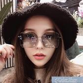 墨鏡偏光太陽鏡女士潮網紅大方框淺色圓臉偏光夜視鏡開車專用駕駛墨鏡 快速出貨