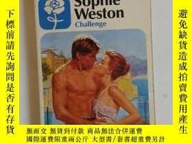 二手書博民逛書店SOPHIE罕見WESTON:CHALLENGE【403】Y10