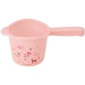 小禮堂 Hello Kitty 塑膠水瓢 小水瓢 水勺 500ml (淡粉 動物) 4973307-48882