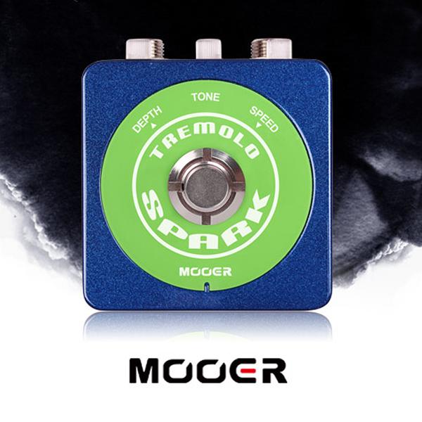 小叮噹的店- MOOER【Spark系列】Spark Tremolo  顫音 單塊 效果器(MREG-STM)