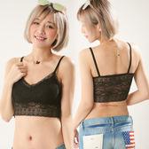 韓版時尚美背蕾絲內衣(小花)