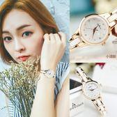 手錶女韓版陶瓷手錶時尚潮流女士石英錶防水休閒女手錶女款 免運快速出貨
