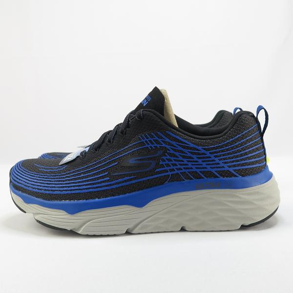 【iSport愛運動】Skechers GO RUN MAX CUSHIONING EL慢跑鞋 54430BKBL 男款