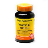 營養生活維他命E軟膠囊 400IU  90顆/瓶
