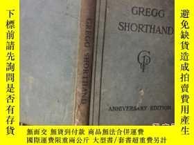 二手書博民逛書店GREGG罕見SHORTHAND19583 出版1930