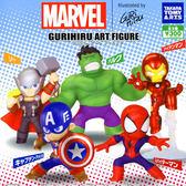全套5款【日本正版】MARVEL 英雄 POP 公仔 扭蛋 轉蛋 漫威英雄 復仇者聯盟 TAKARA TOMY - 865268