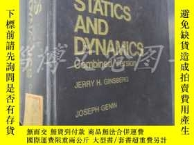 二手書博民逛書店Statics罕見and Dynamics Combined V