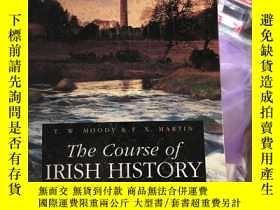 二手書博民逛書店The罕見course of Irish historyY154